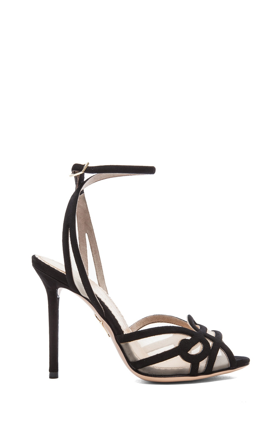 Image 1 of Charlotte Olympia Sugar High Sandals in Black