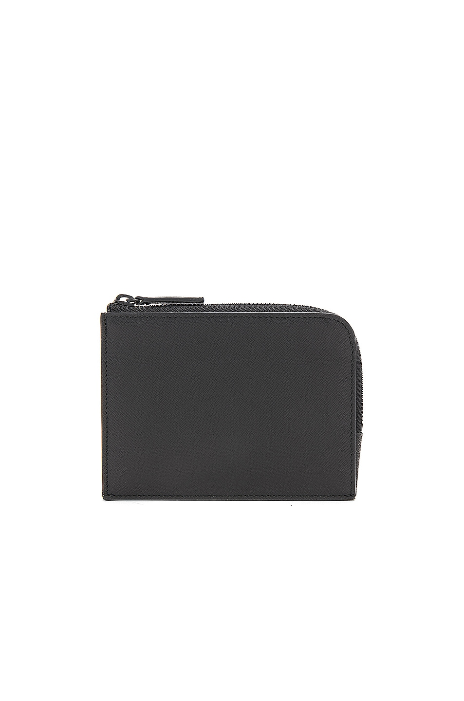 Image 1 of Common Projects Saffiano Leather Zipper Wallet in Black