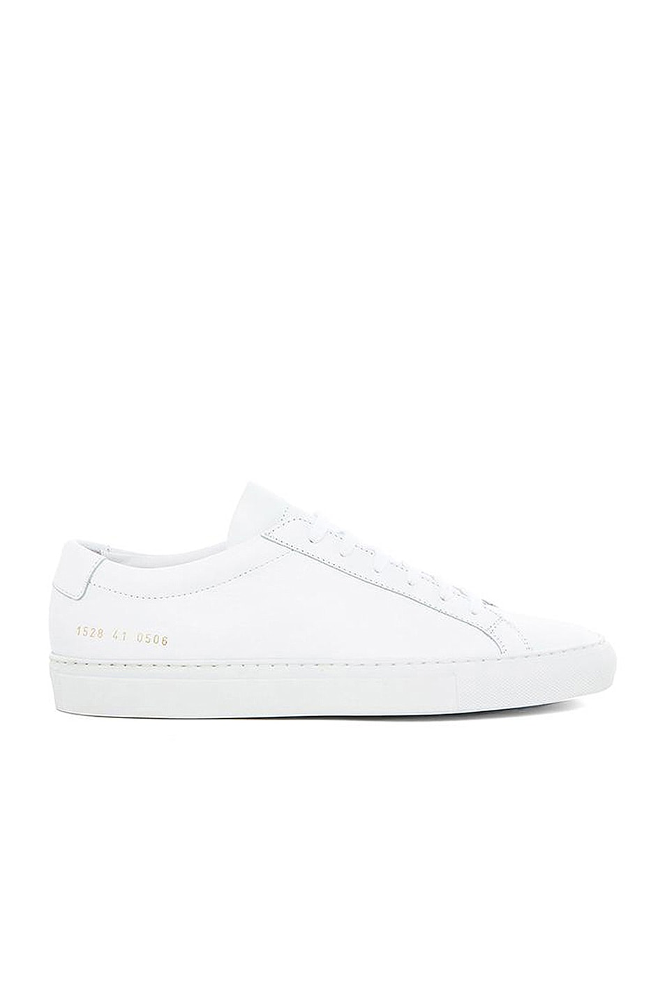 Image 1 of Common Projects Original Leather Achilles Low in White