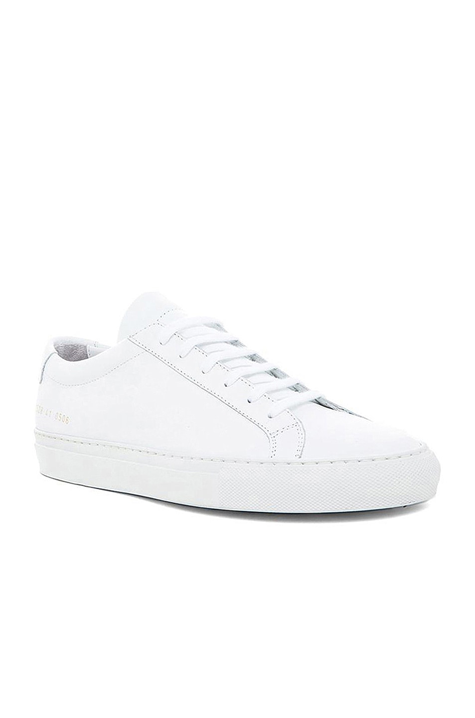 Image 2 of Common Projects Original Leather Achilles Low in White