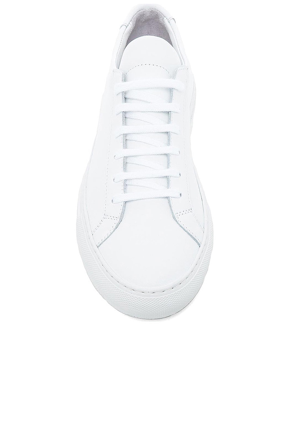 Image 3 of Common Projects Original Leather Achilles Low in White