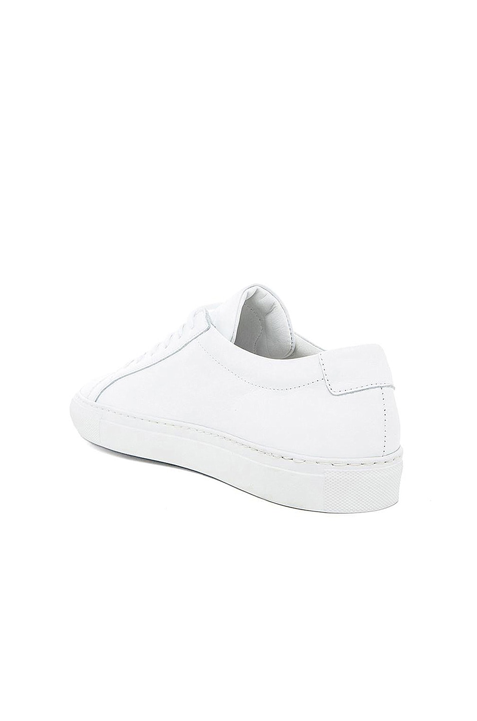 Image 4 of Common Projects Original Leather Achilles Low in White