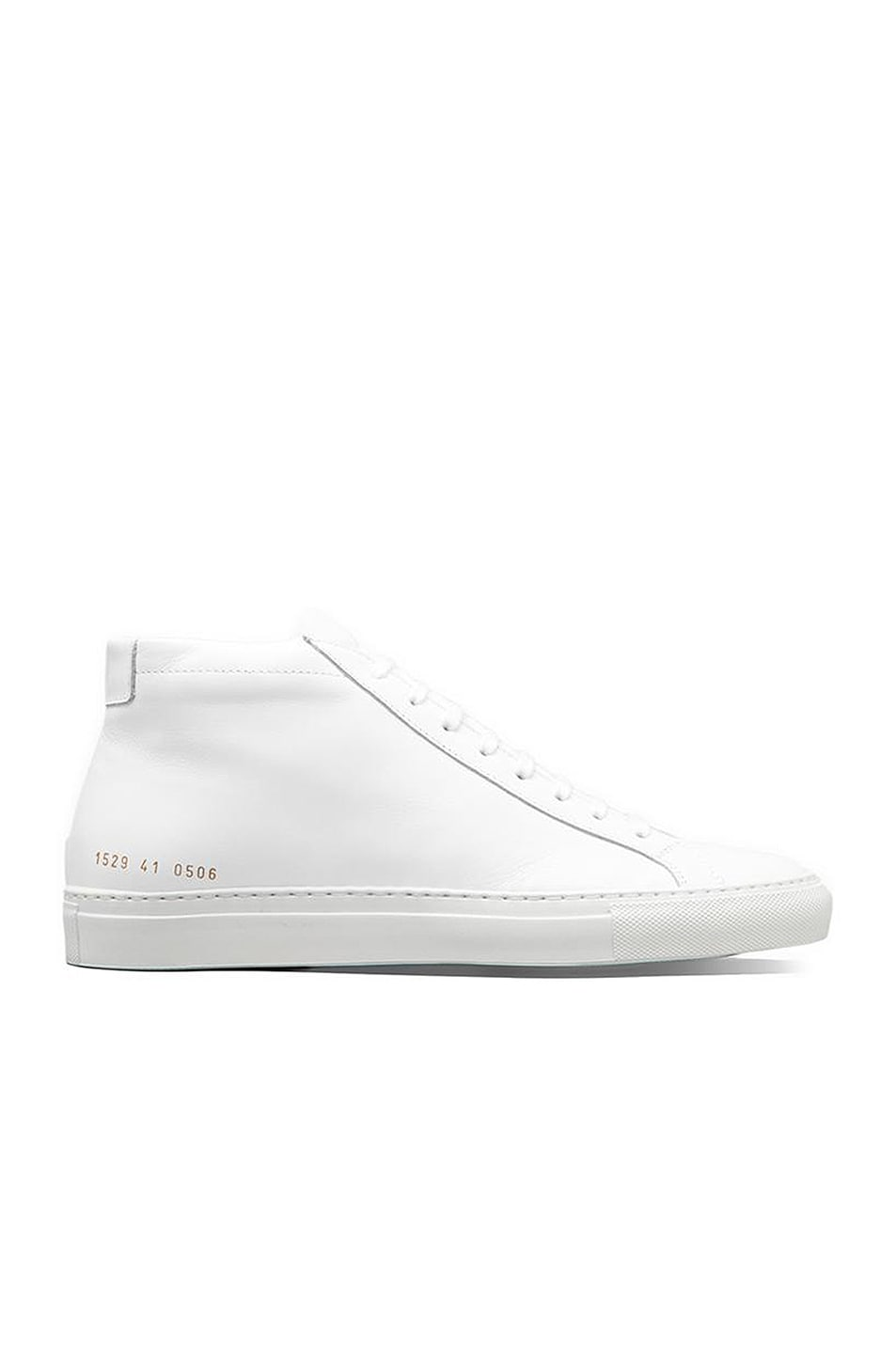 Image 1 of Common Projects Original Leather Achilles Mid in White