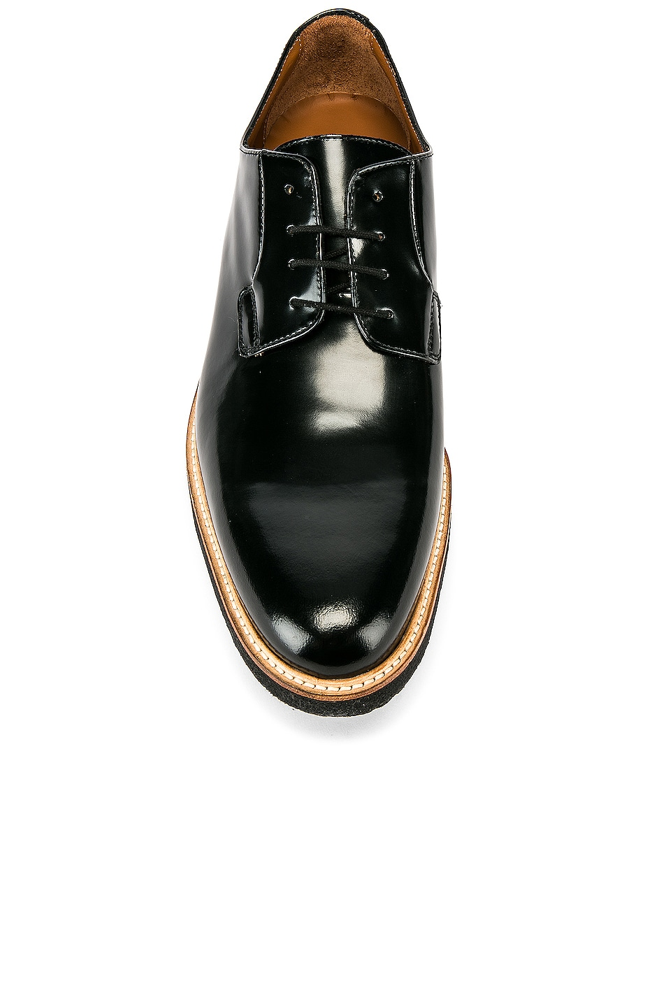 Image 4 of Common Projects Leather Derby Shine in Black