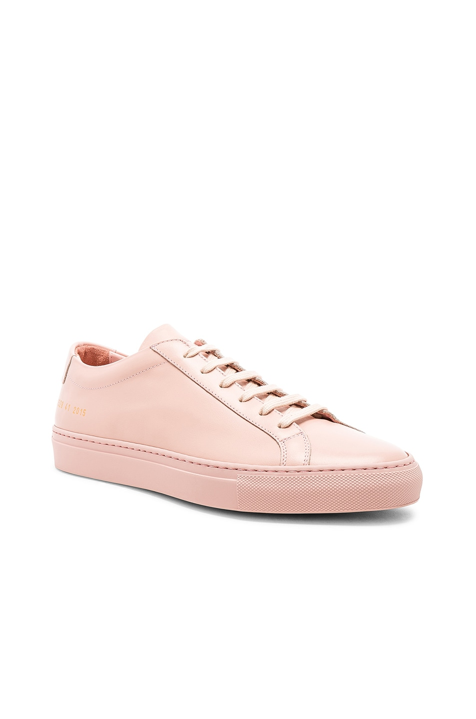 Image 1 of Common Projects Original Leather Achilles Low in Blush