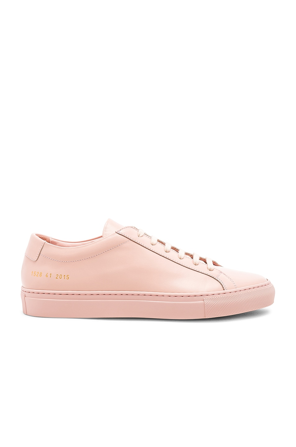 Image 2 of Common Projects Original Leather Achilles Low in Blush