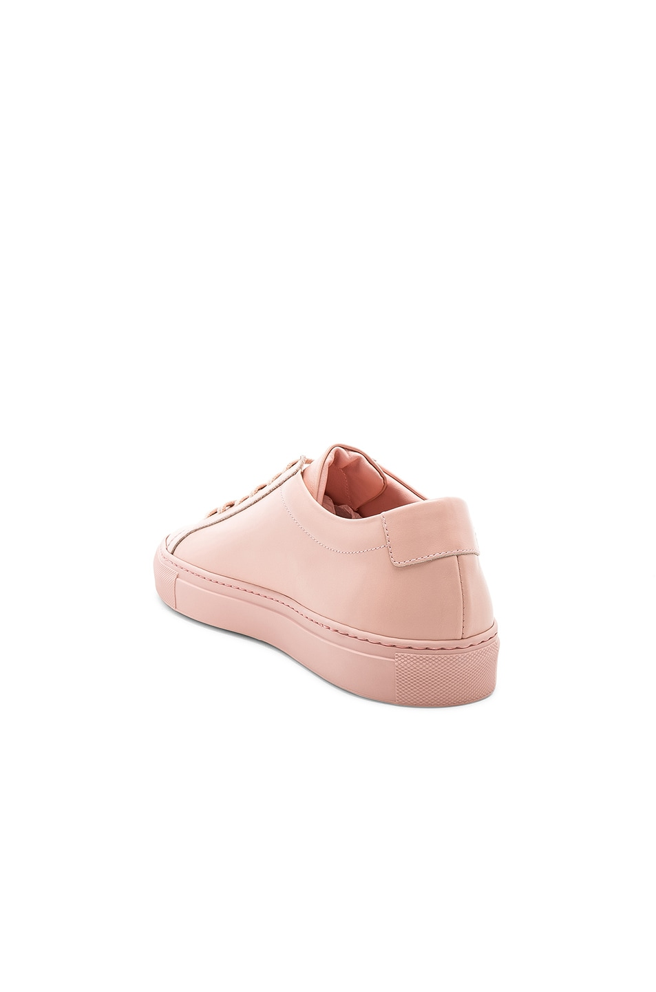 Image 3 of Common Projects Original Leather Achilles Low in Blush