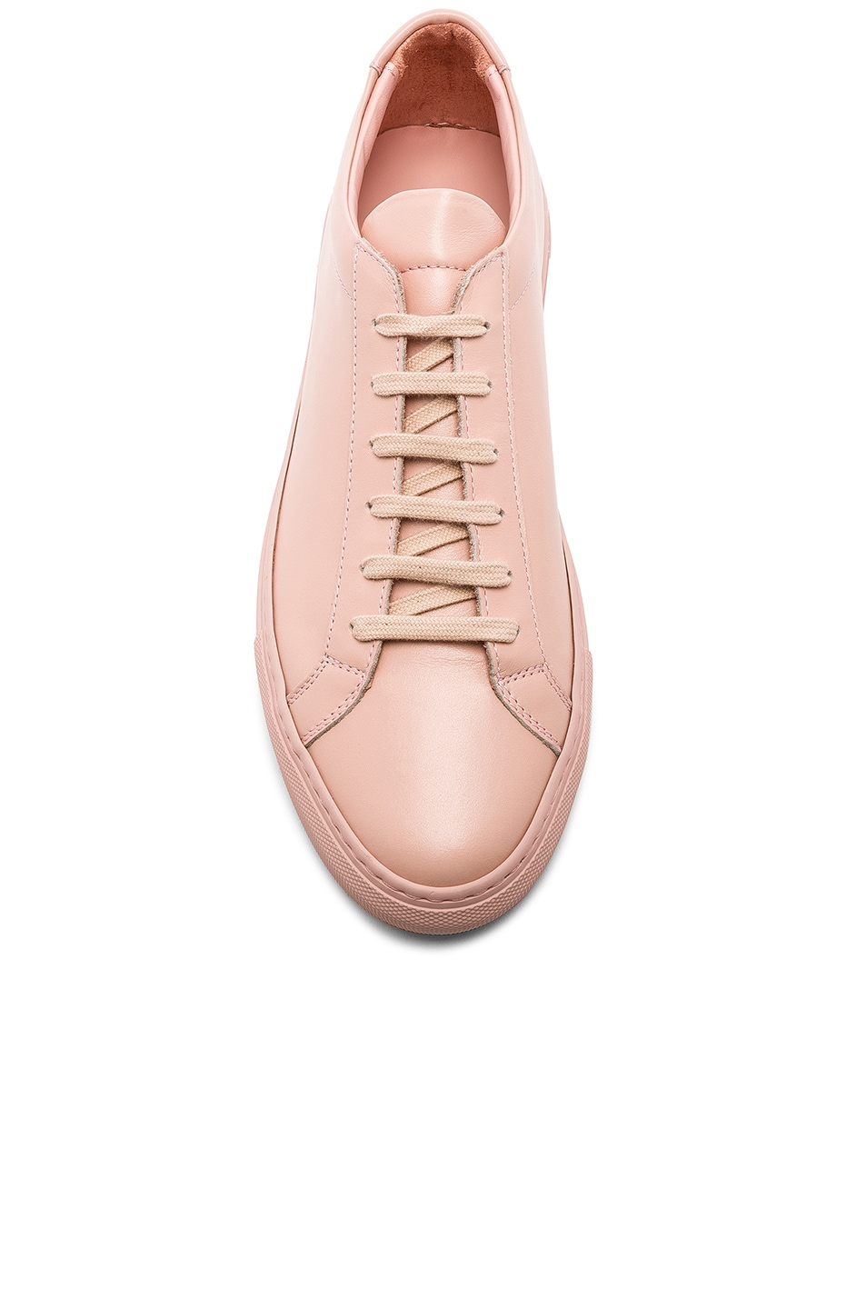 Image 4 of Common Projects Original Leather Achilles Low in Blush