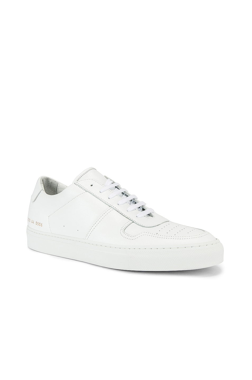Image 2 of Common Projects Leather BBall Low in White