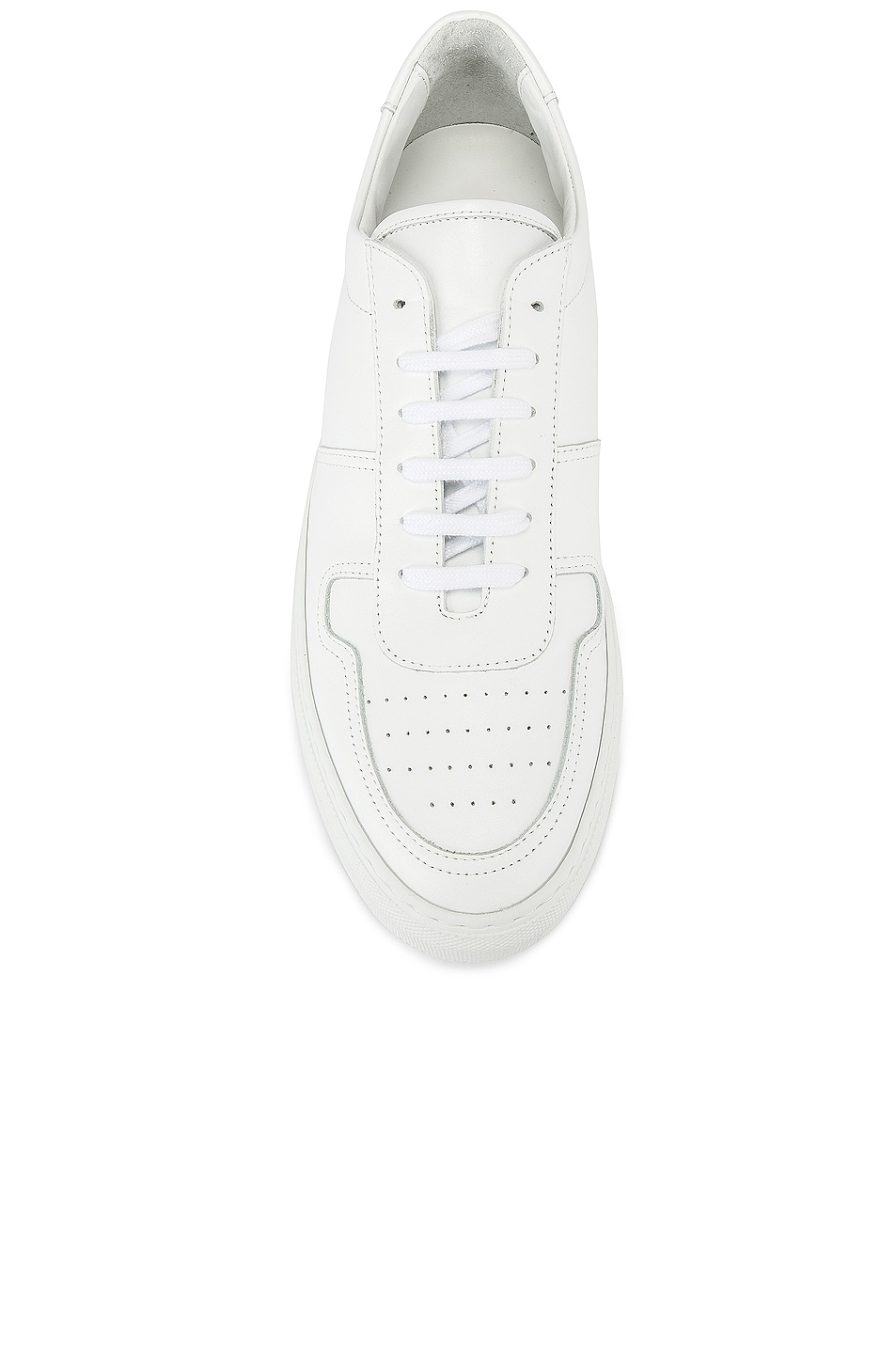 Image 4 of Common Projects Leather BBall Low in White
