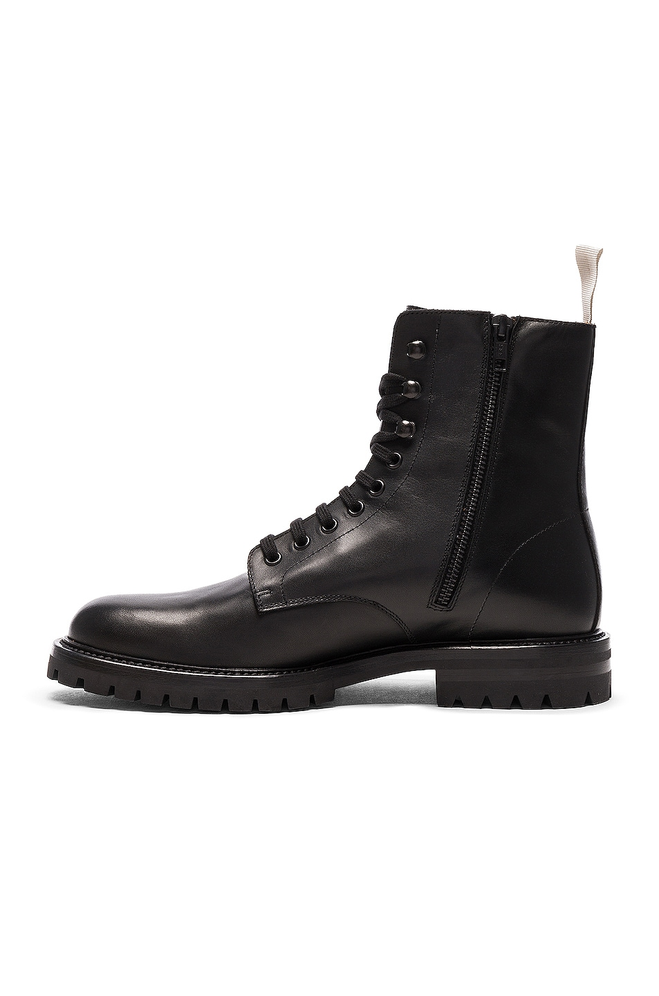 ecf4dac021599 Image 5 of Common Projects Leather Winter Combat Boots in Black