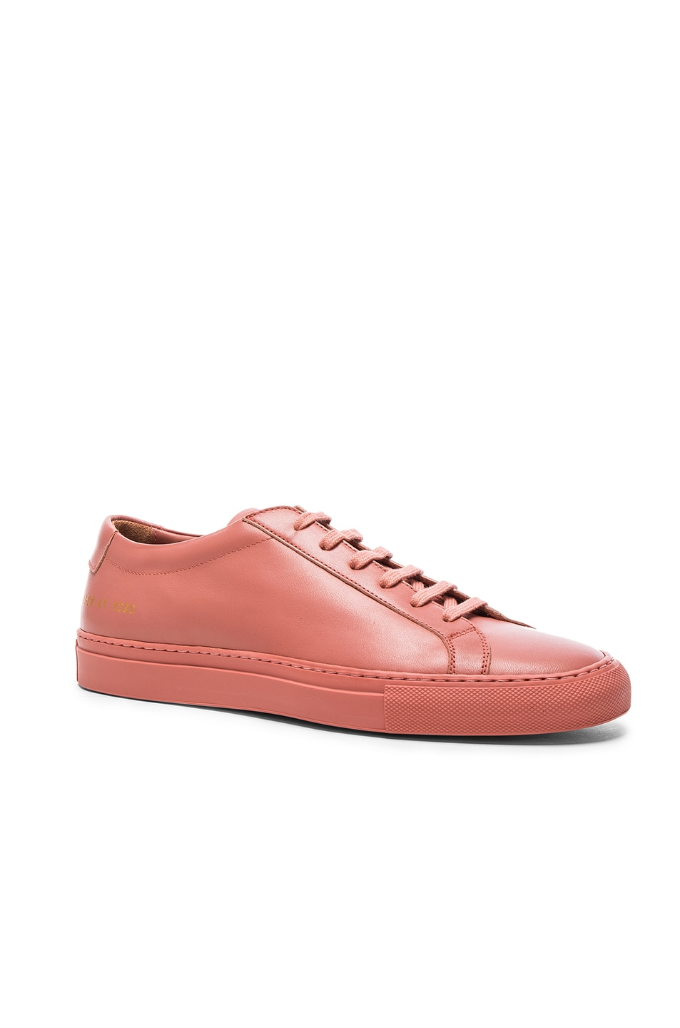 Image 1 of Common Projects Leather Original Achilles Low in Antique Rose