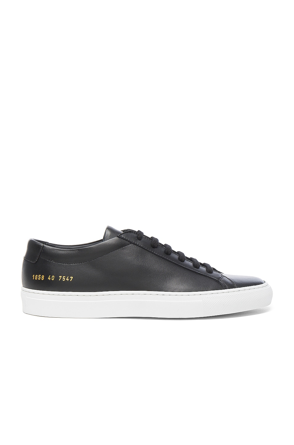 Image 1 of Common Projects Original Leather Achilles Low in Black