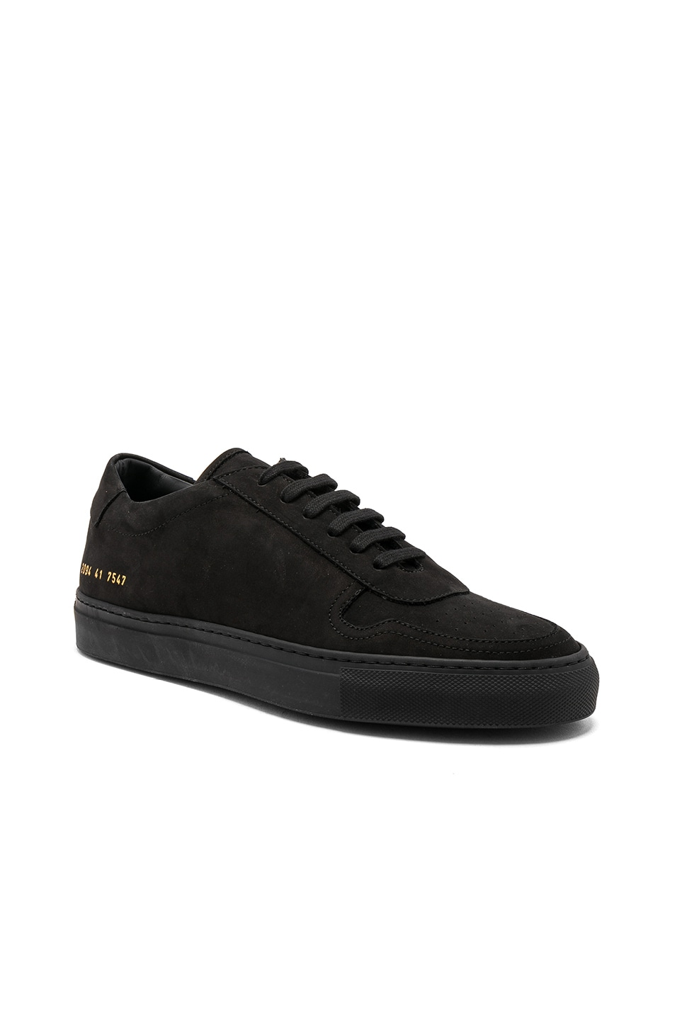 Bball Leather Sneakers - BlackCommon Projects UEb00Q