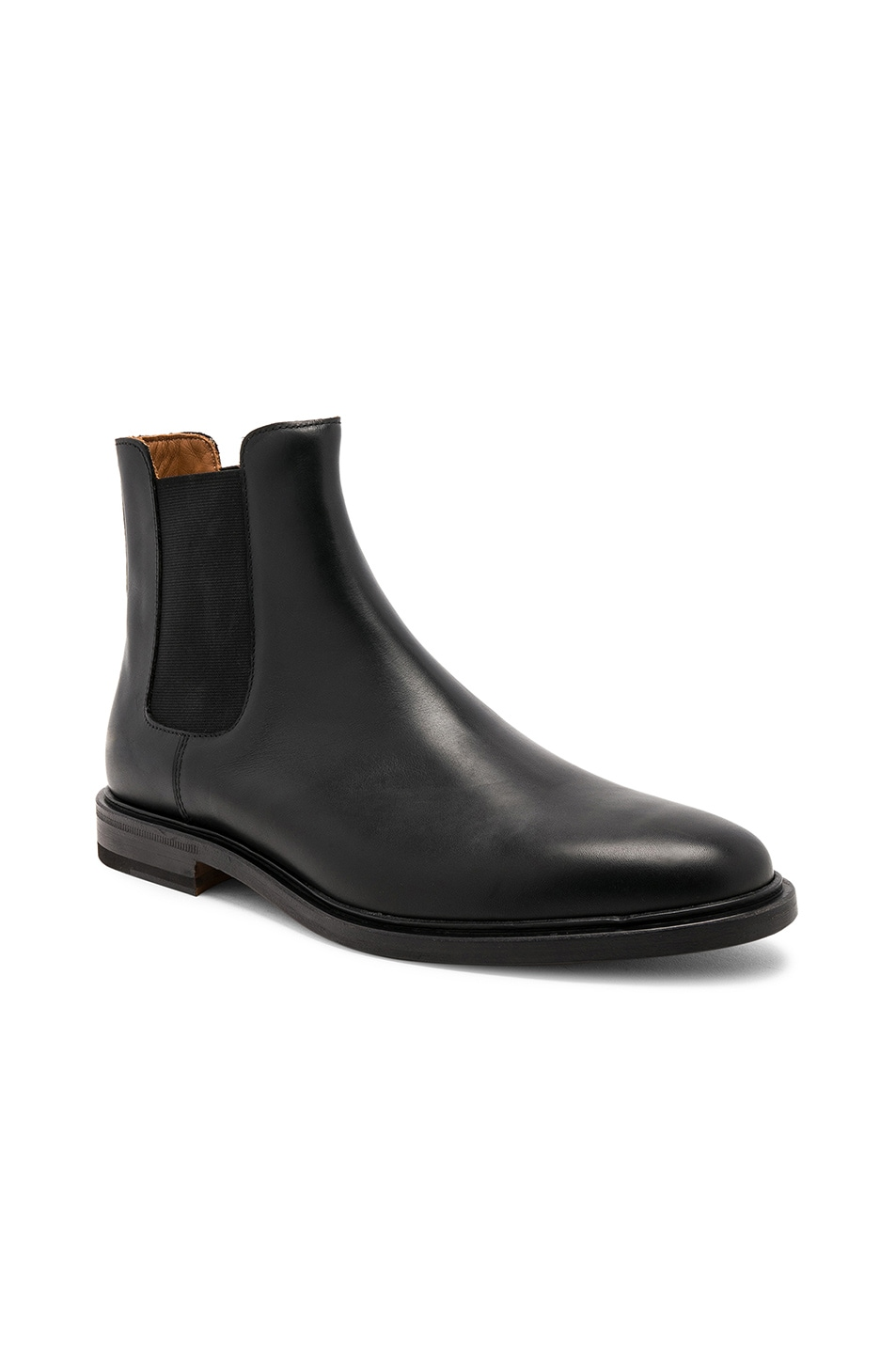 Image 1 of Common Projects Leather Chelsea Boots in Black