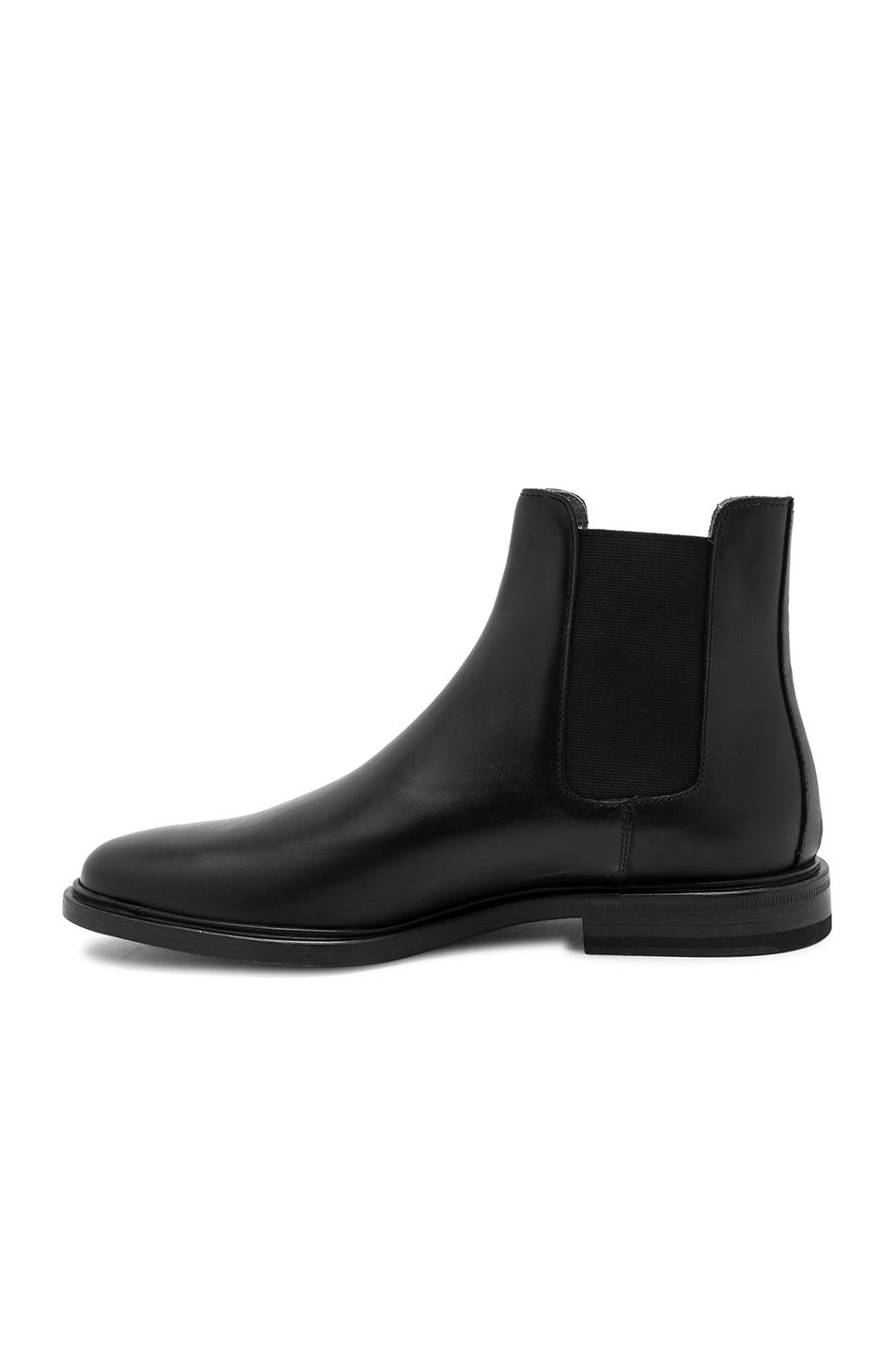 Image 5 of Common Projects Leather Chelsea Boots in Black