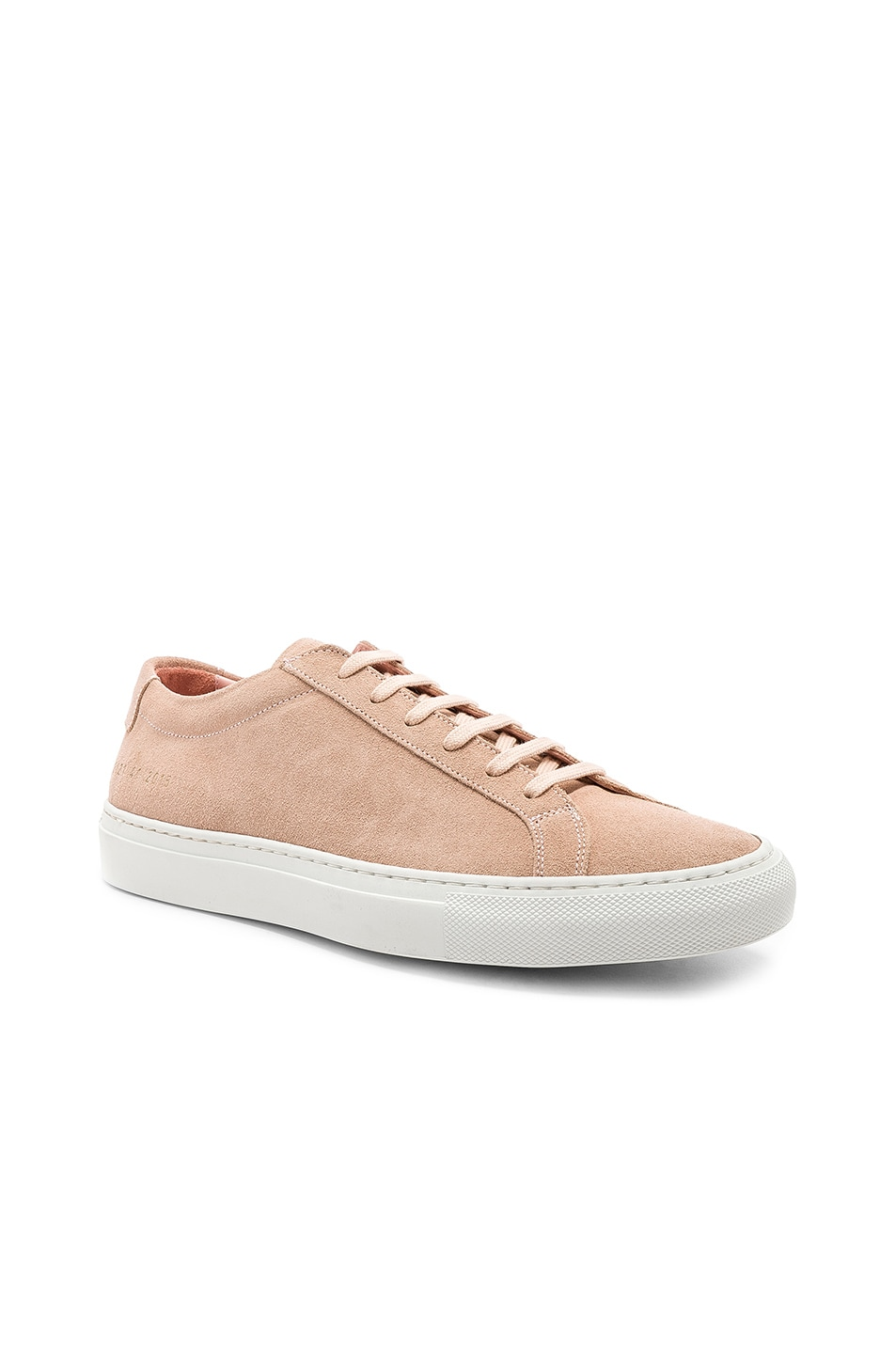 8c81f8466246 Image 1 of Common Projects Suede Original Achilles Low Suede in Blush