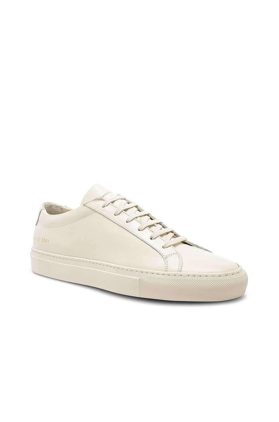 Image 1 of Common Projects Original Leather Achilles Low in Warm White