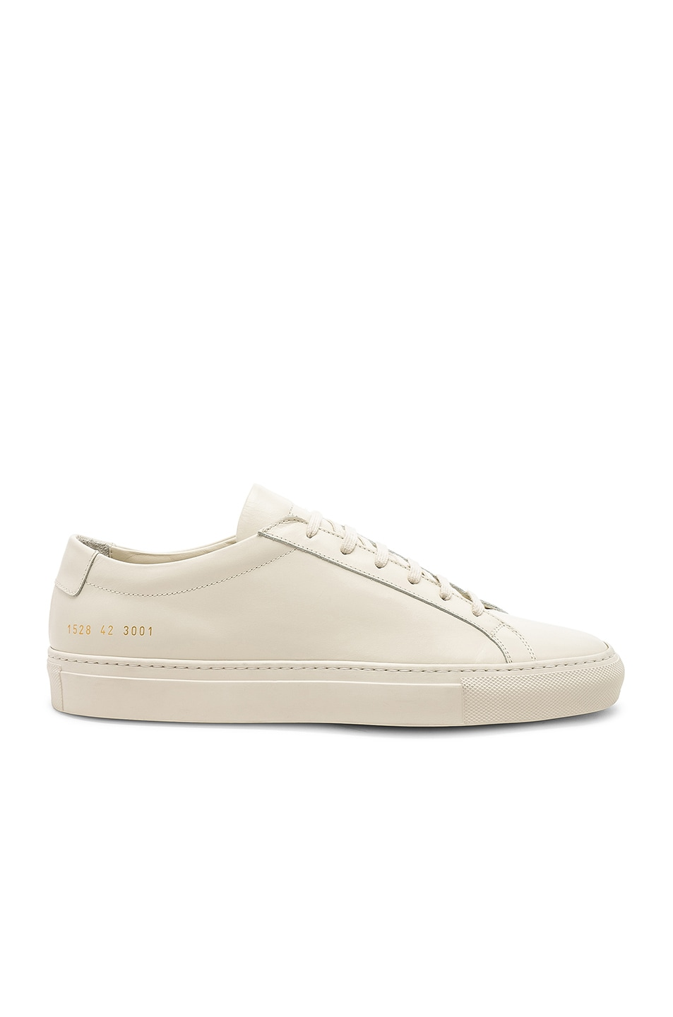 Image 2 of Common Projects Original Leather Achilles Low in Warm White