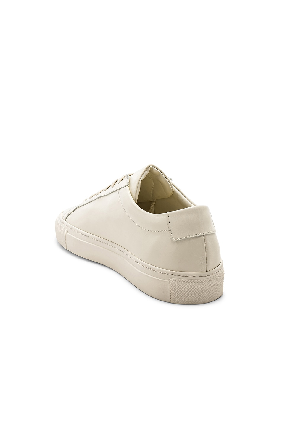 Image 3 of Common Projects Original Leather Achilles Low in Warm White