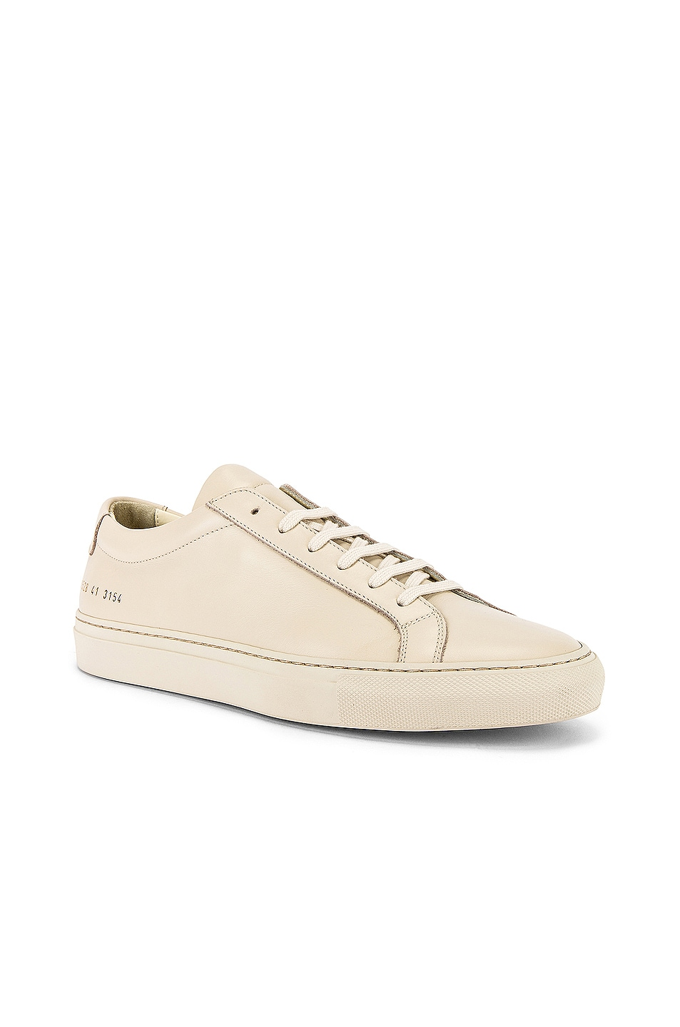 Image 1 of Common Projects Original Achilles Low Low Sneaker in Off White