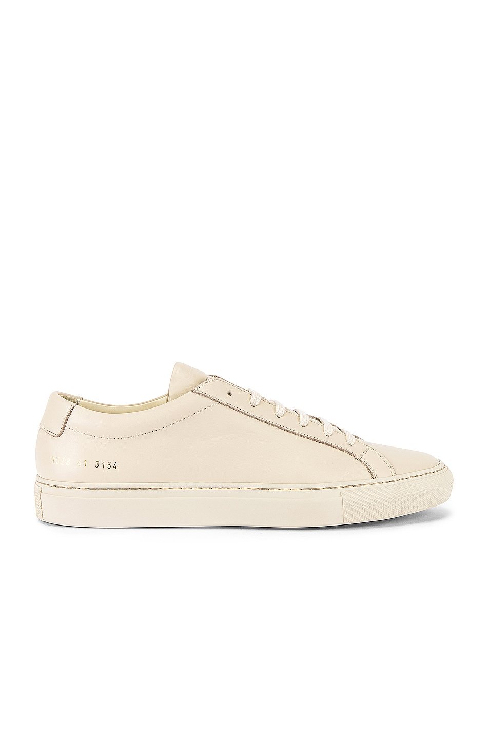Image 2 of Common Projects Original Achilles Low Low Sneaker in Off White