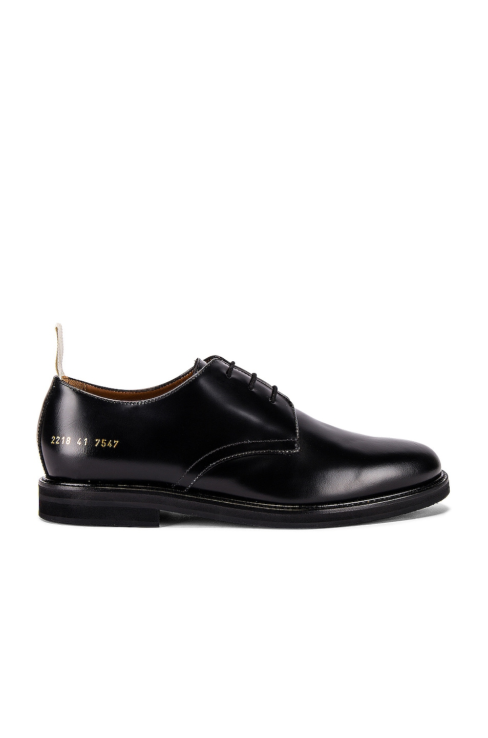 Image 1 of Common Projects Standard Derby in Black