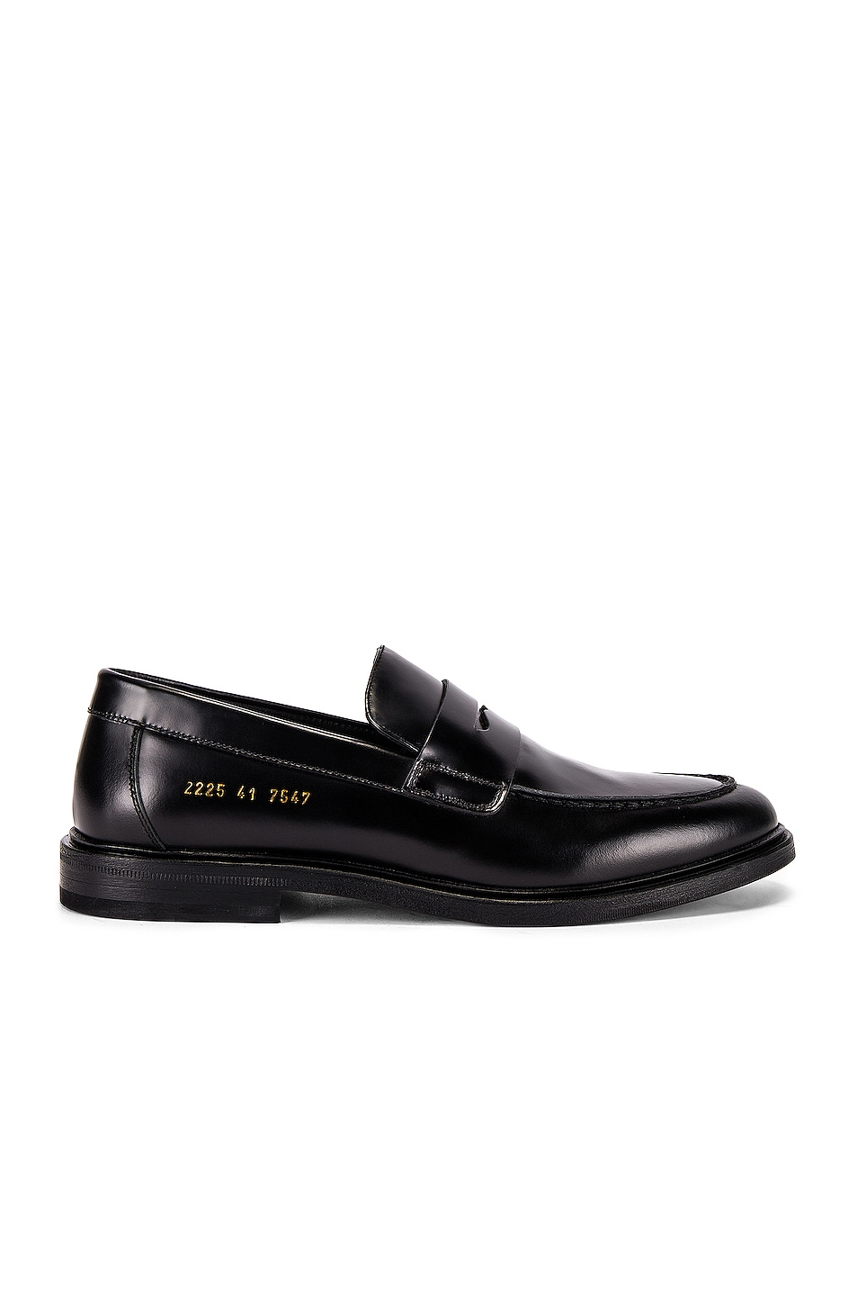 Image 1 of Common Projects Leather Loafer in Black