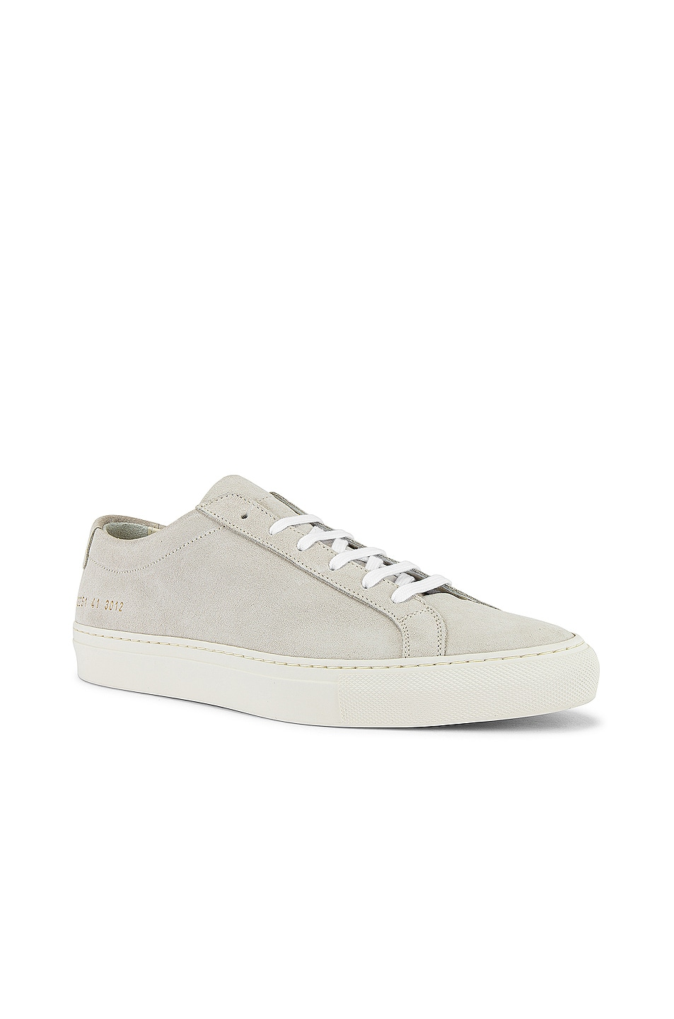 Image 1 of Common Projects Original Achilles Low Suede Sneaker in Off White