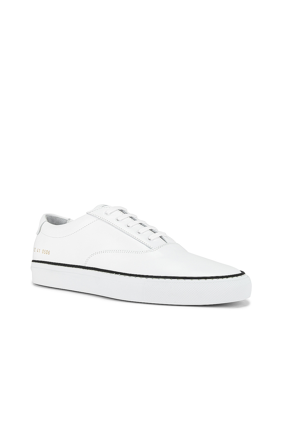 Image 1 of Common Projects Five Hole Sneaker in White