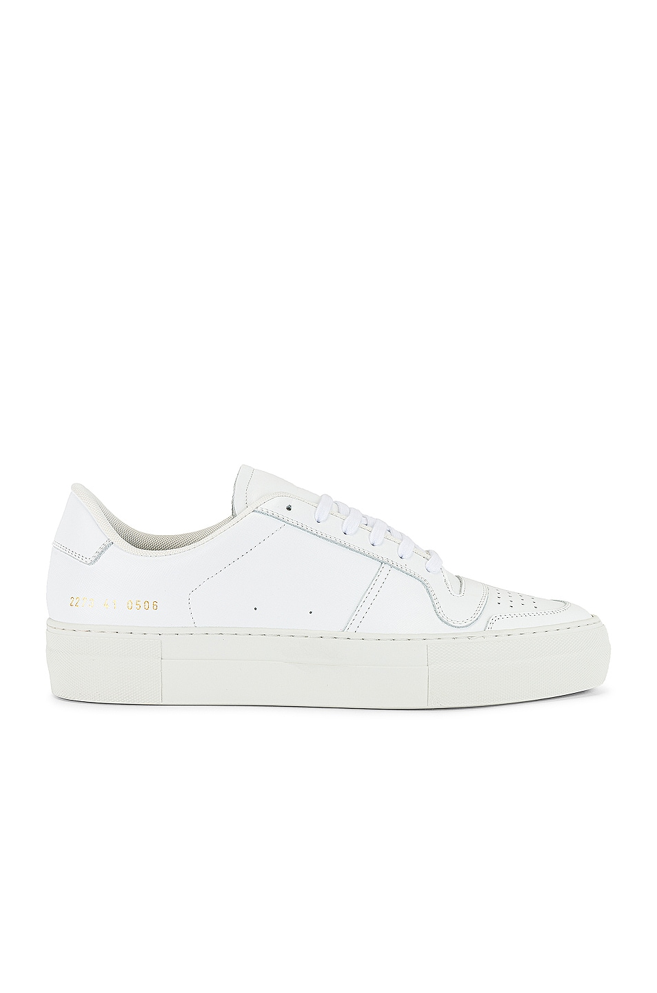 Image 1 of Common Projects Full Court Saffiano Low Top Sneaker in White
