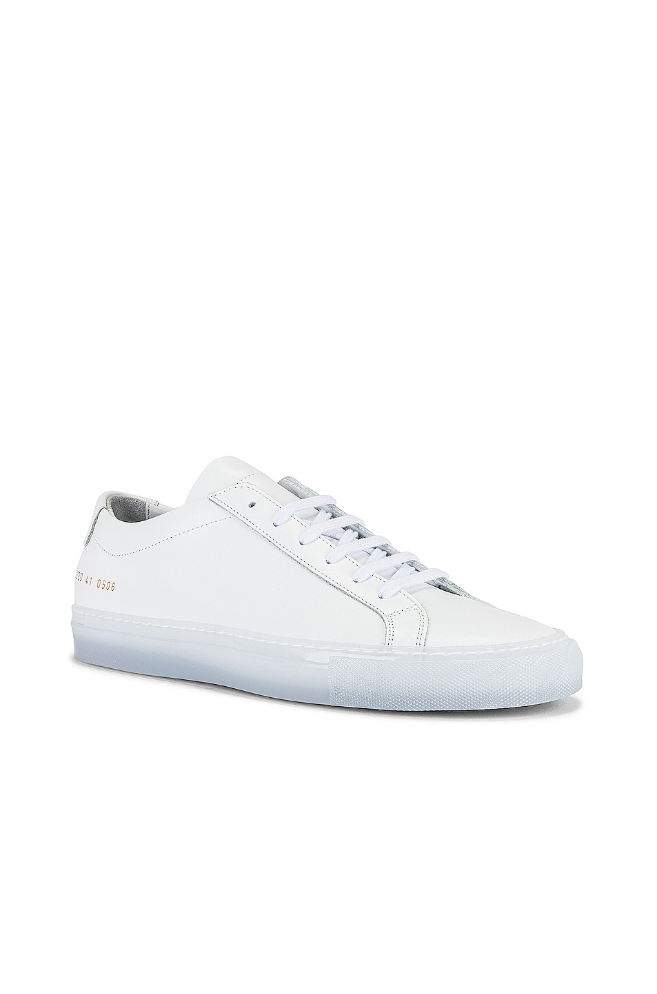 Image 1 of Common Projects Achilles Ice Sole in White