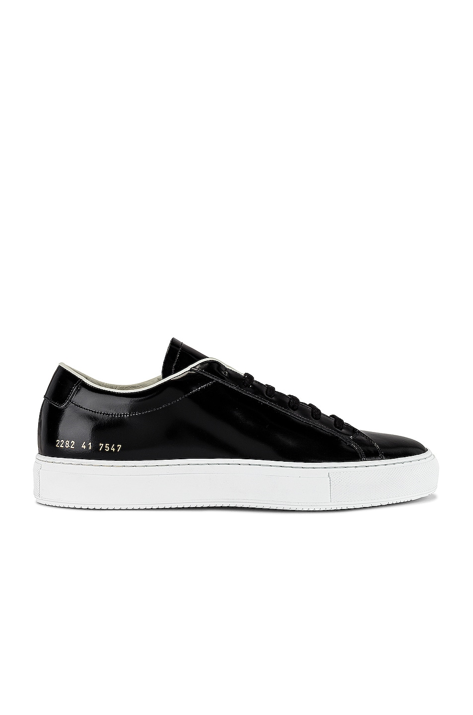 Image 1 of Common Projects Original Vintage Low Top Sneaker in Black & Off White