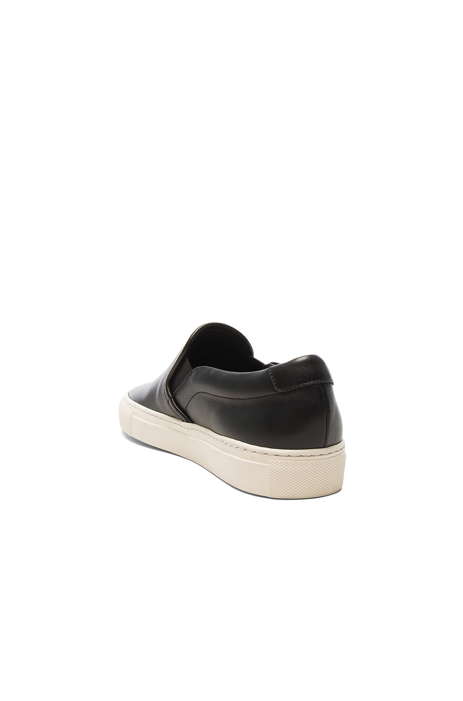 Image 3 of Common Projects Leather Slip on Retro in Black