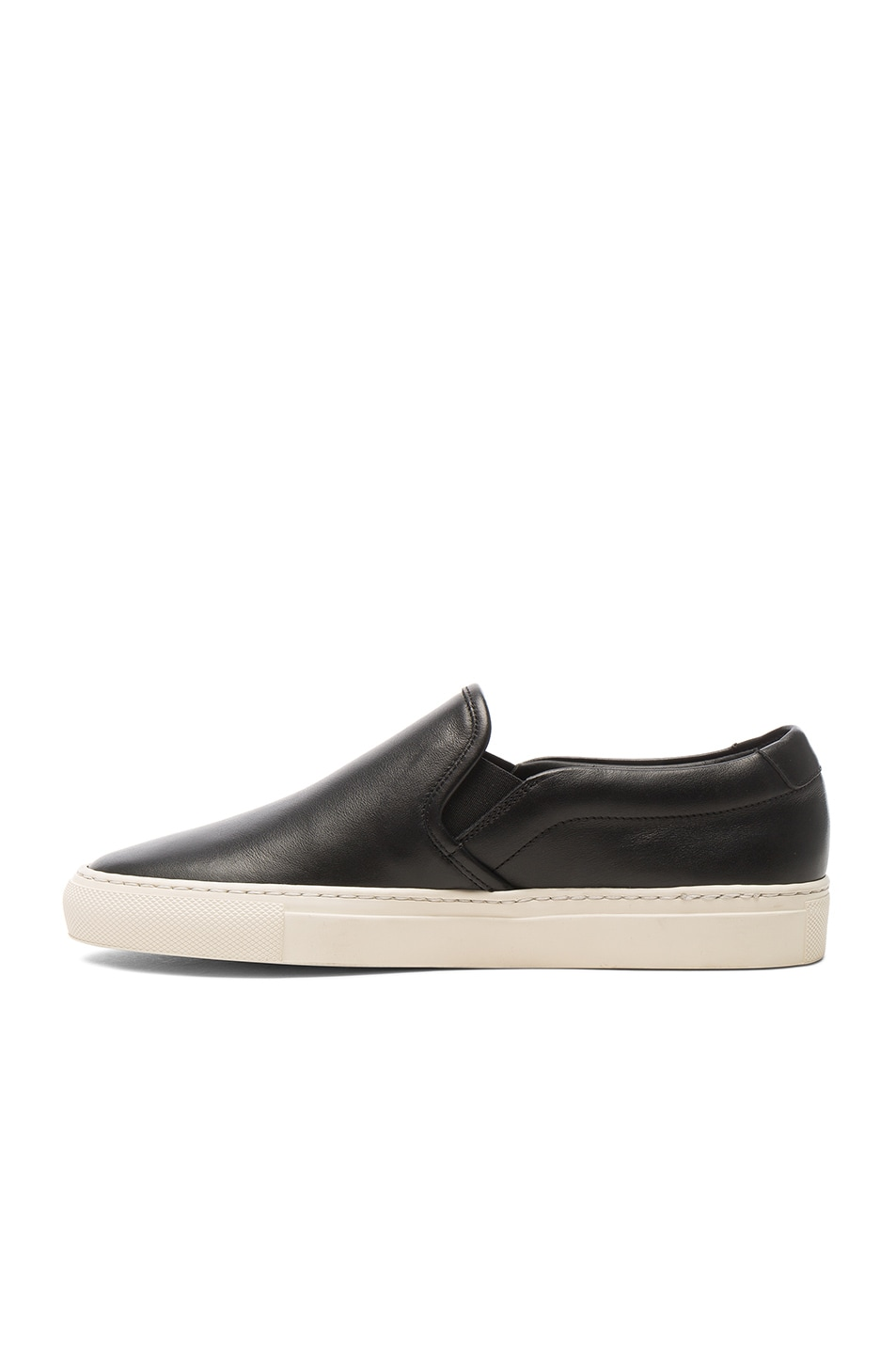 Image 5 of Common Projects Leather Slip on Retro in Black