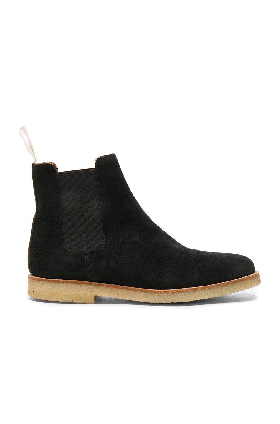 Image 1 of Common Projects Suede Chelsea Boots in Black