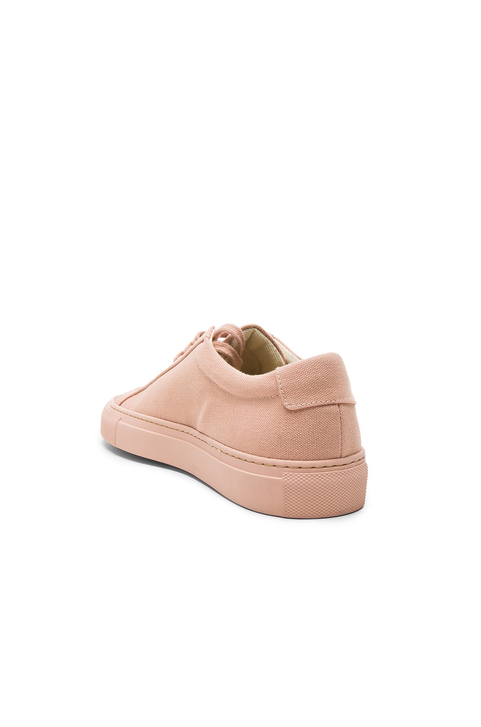 Image 3 of Common Projects Canvas Achilles Low in Blush
