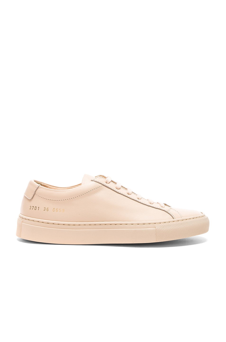 8ce6682b5efa Image 1 of Common Projects Leather Original Achilles Low in Nude