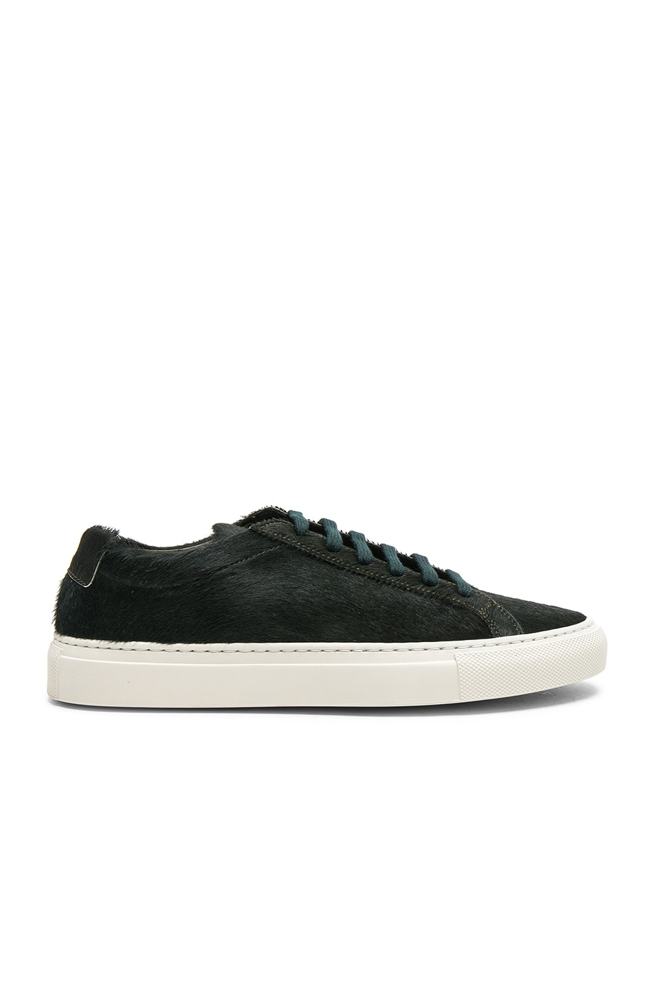 Image 1 of Common Projects Original Calf Hair Achilles Low in Green