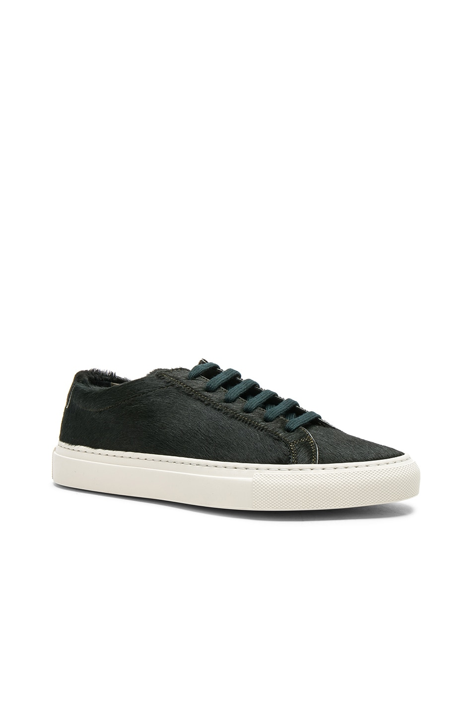 Image 2 of Common Projects Original Calf Hair Achilles Low in Green