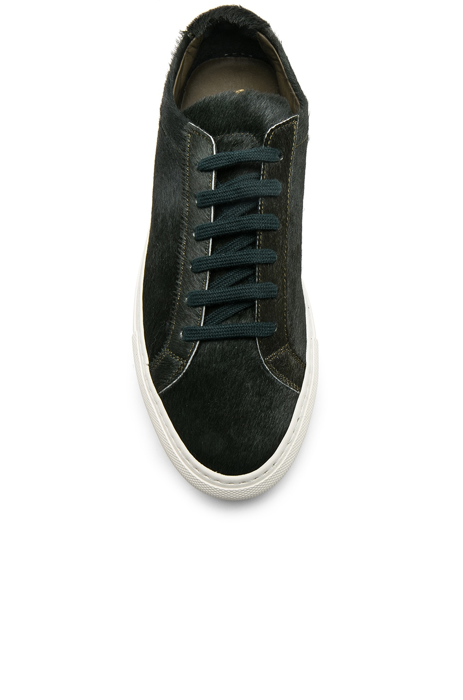 Image 4 of Common Projects Original Calf Hair Achilles Low in Green
