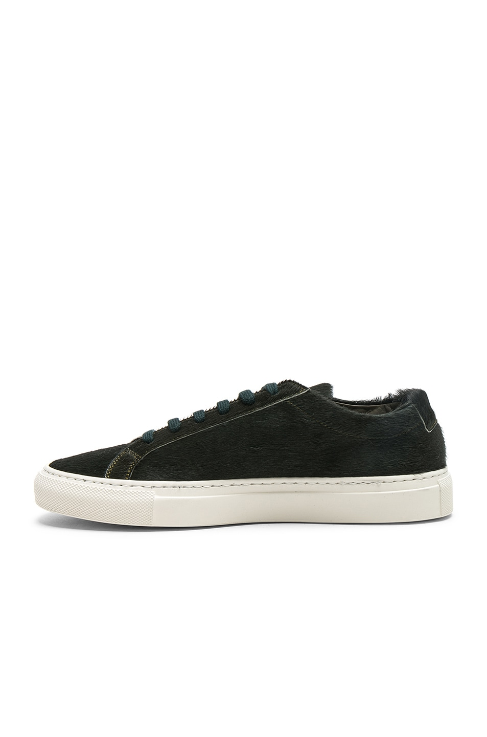 Image 5 of Common Projects Original Calf Hair Achilles Low in Green