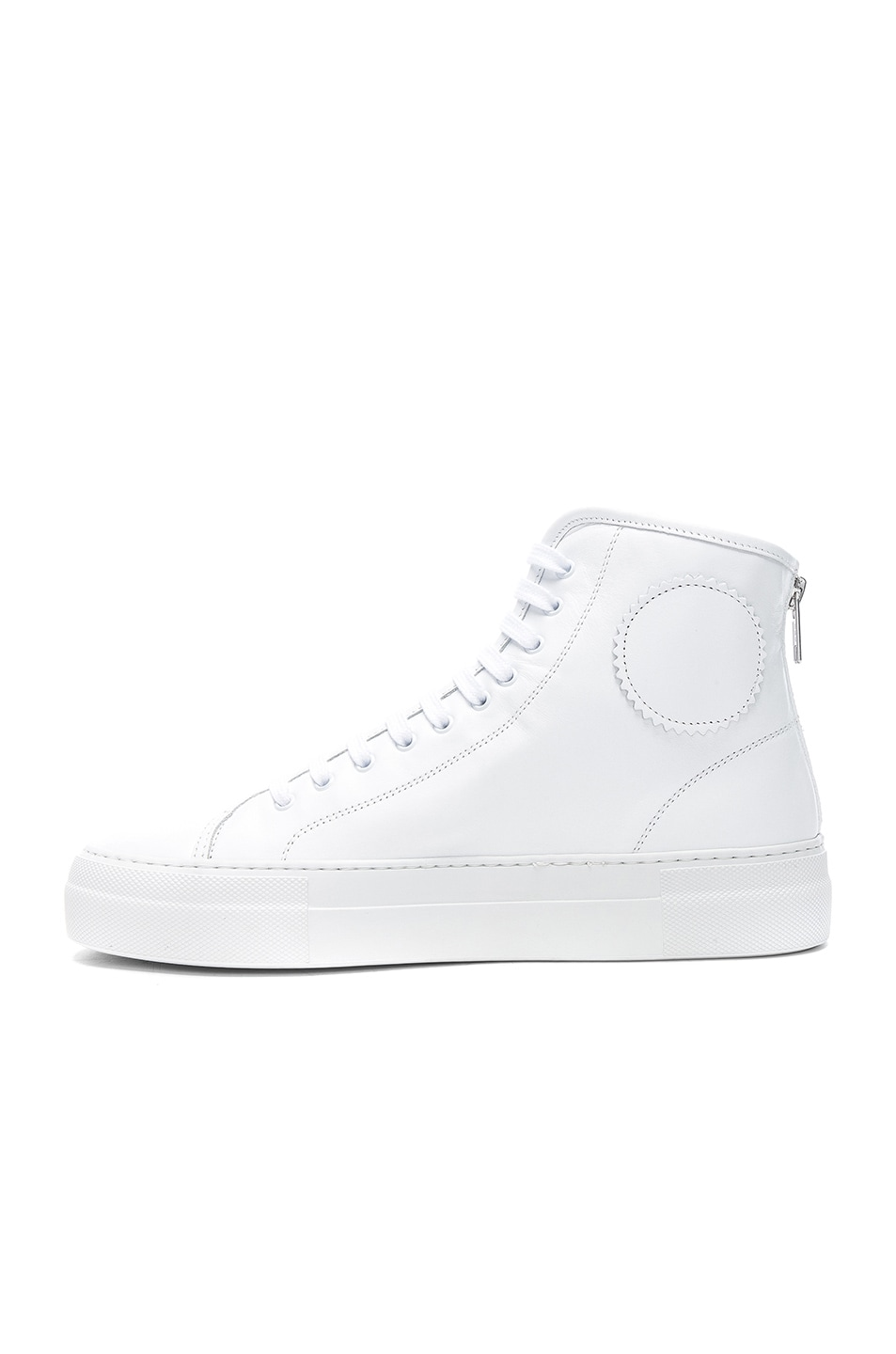 COMMON PROJECTS Leather High Tournament Super Sneakers in . F2CT2Ye