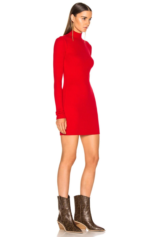 Image 2 of COTTON CITIZEN Ibiza Mini Dress in Cherry