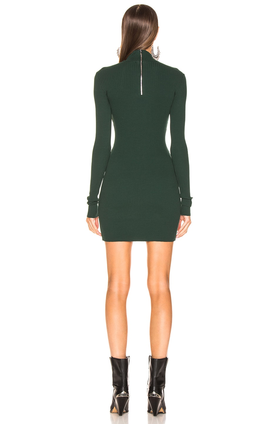 Image 3 of COTTON CITIZEN Ibiza Dress in Battle Green