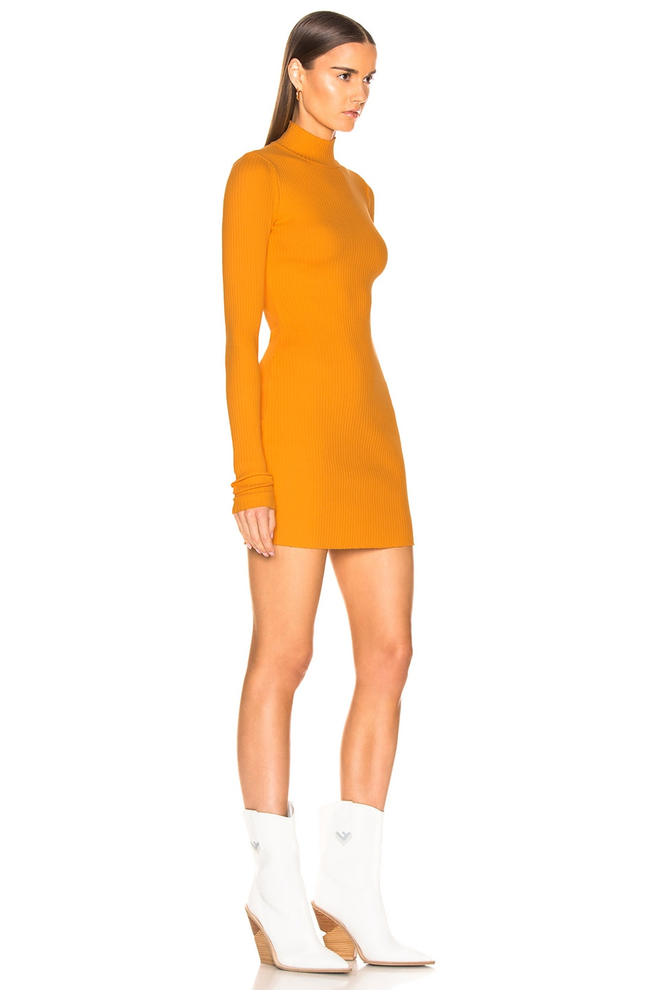 Image 2 of COTTON CITIZEN Ibiza Mini Dress in Honey