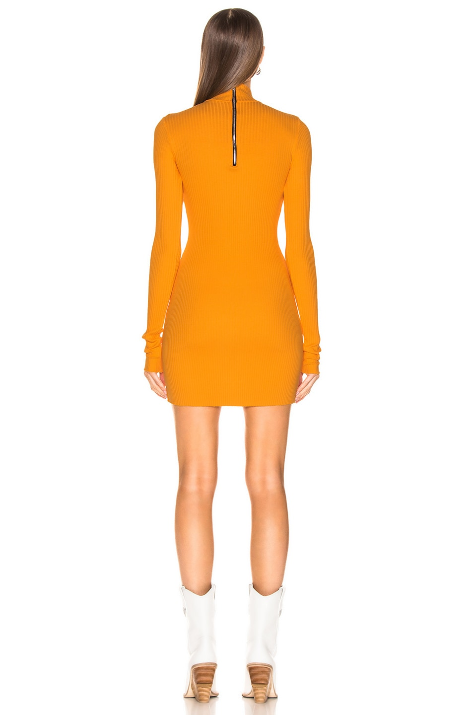 Image 3 of COTTON CITIZEN Ibiza Mini Dress in Honey