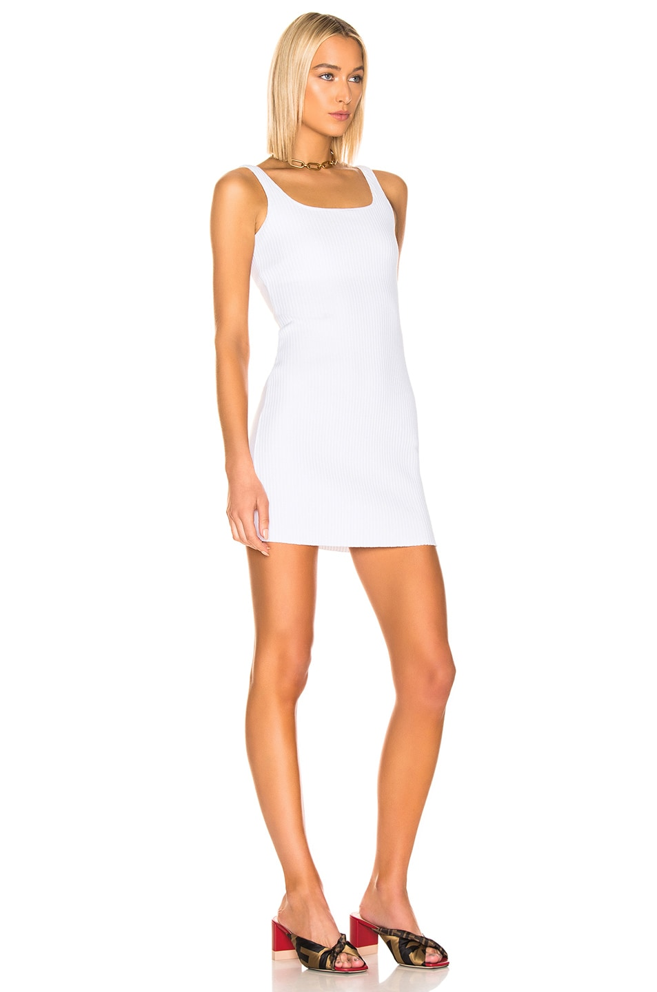 Image 2 of COTTON CITIZEN Ibiza Tank Dress in White