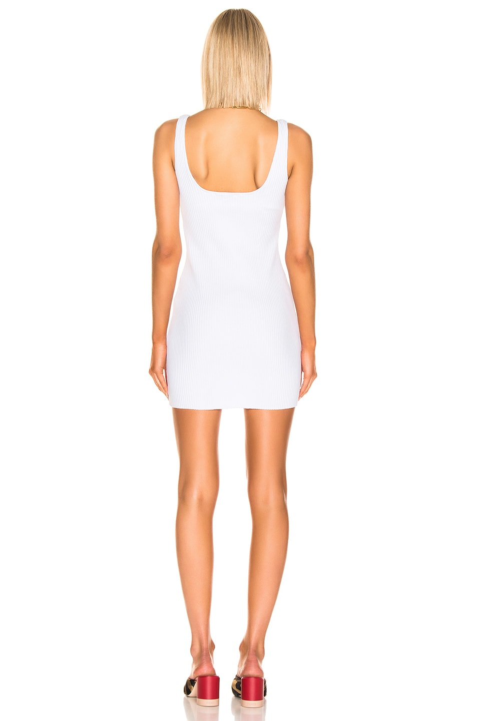 Image 3 of COTTON CITIZEN Ibiza Tank Dress in White