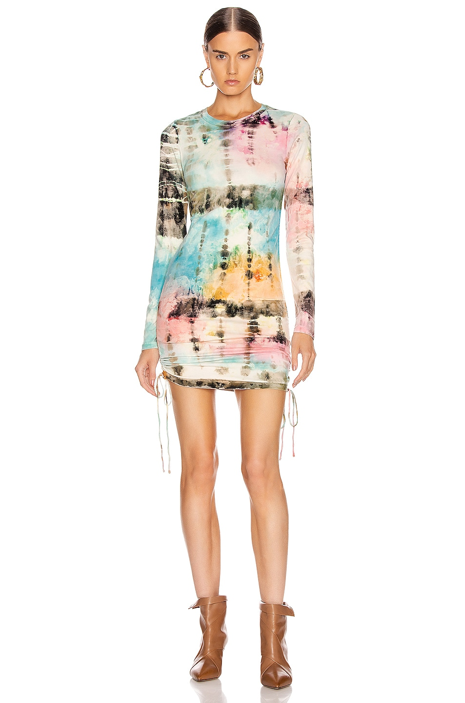 Image 1 of COTTON CITIZEN Lisbon Shirt Dress in Kaleidoscope Sky